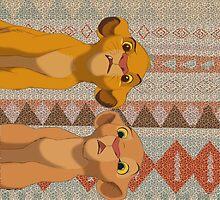 Simba & Nala by bbygreentea
