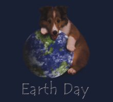 Earth Day Sheltie Kids Clothes