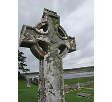 Monastery of Clonmacnoise Photographic Print
