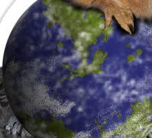 Earth Day Squirrel Sticker