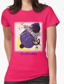 Kandinsky - Small World Womens Fitted T-Shirt