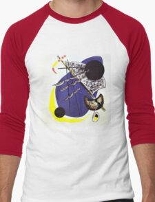 Kandinsky - Small World Men's Baseball ¾ T-Shirt