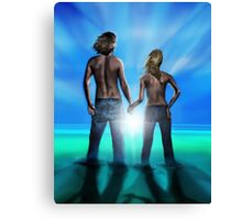 Lost Together Canvas Print