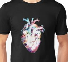 Anatomy - Heart Watercolor Unisex T-Shirt