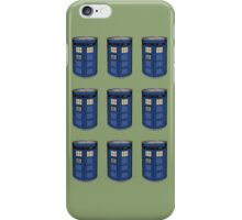 Tardis Soup iPhone Case/Skin