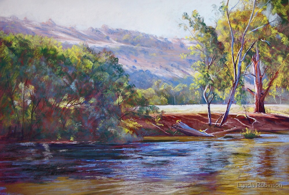 Tranquil Trawool Afternoon by Lynda Robinson