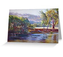 Tranquil Trawool Afternoon Greeting Card