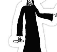 Woke up looking like death Sticker