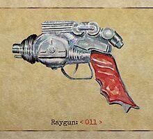 Raygun 011 by Garabating