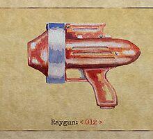 Raygun 012 by Garabating