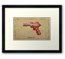 Raygun 013 Framed Print