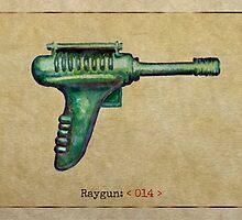 Raygun 014 by Garabating