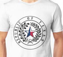 Texas Flag | State Seal | SteezeFactory.com Unisex T-Shirt