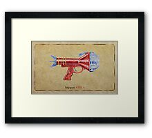 Raygun 015 Framed Print