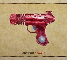 Raygun 016 by Garabating
