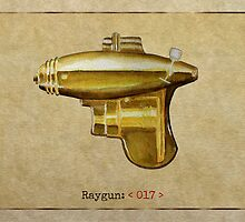 Raygun 017 by Garabating