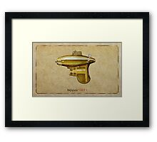 Raygun 017 Framed Print