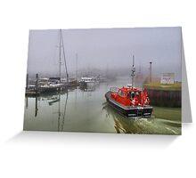 Foggy Lowestoft Greeting Card