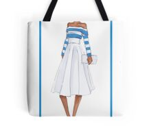 Bold and Striped Tote Bag