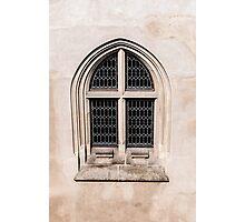 Gothic window. Photographic Print