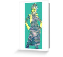 Jubilee X-Men Ink Scratch (Multi) Greeting Card