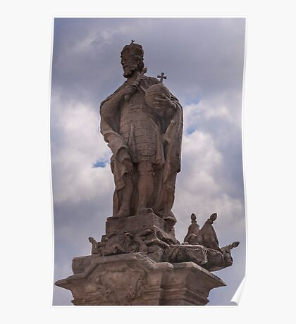 King statue. Poster