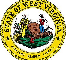 West Virginia | State Seal | SteezeFactory.com by FreshThreadShop