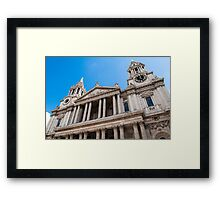 St Paul's Cathedral. Framed Print