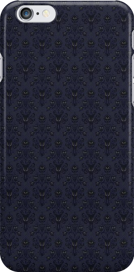 Haunted Mansion Wallpaper iCase by Ron Hannah