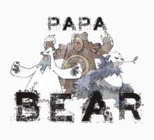 Papa Bear by wormbug