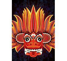 Sri Lankan Fire Demon Photographic Print