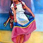 a Mexican dancing girl by Hidemi Tada