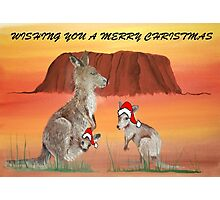 'HOPPING CHRISTMAS' Photographic Print