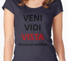 Veni Vidi Vista 3 Women's Fitted Scoop T-Shirt