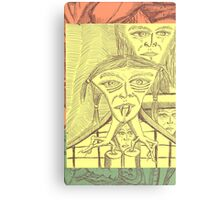 chipped tooth Canvas Print