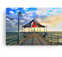Brighton Beach, Adelaide Canvas Print