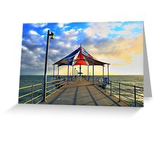 Brighton Beach, Adelaide Greeting Card
