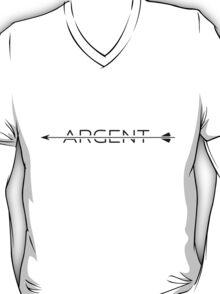 Argent [with arrow] [black] T-Shirt