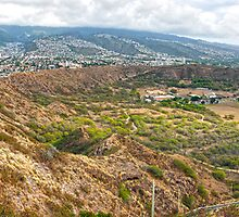 Diamond Head Crater by Adrian Alford Photography