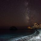 Aphrodites Rock Milky Way by James Grant