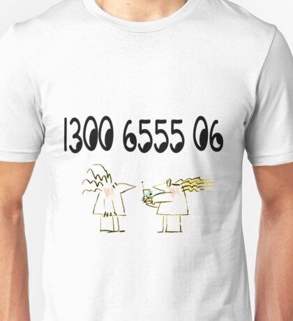 Reading Writing Hotline Unisex T-Shirt