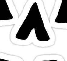 Jack-o-Lantern Face Sticker