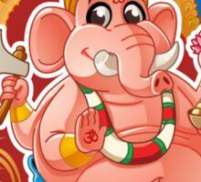 Ganesh - Hindu God - Bunch of Bhagwans Sticker