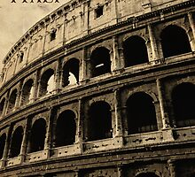 Colosseum in Rome Italy by sumners