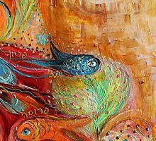 Original painting fragment 65 by Elena Kotliarker