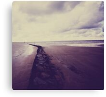 Beach- Normandie Canvas Print