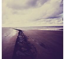 Beach- Normandie Photographic Print