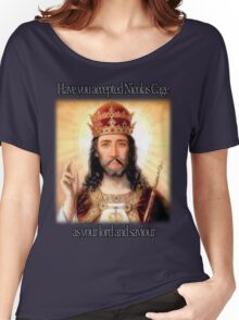 have you accepted Nicolas Cage as your lord and savior ? Women's Relaxed Fit T-Shirt
