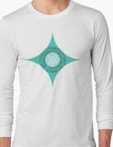 Caesar's Shift Cipher (Green) Long Sleeve T-Shirt
