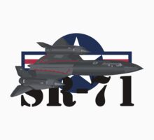 SR-71 Blackbird by J Biggadike